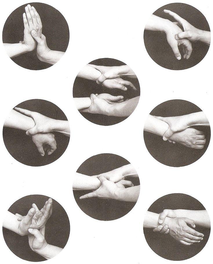 Close-up of Hapkido/Aikido grips