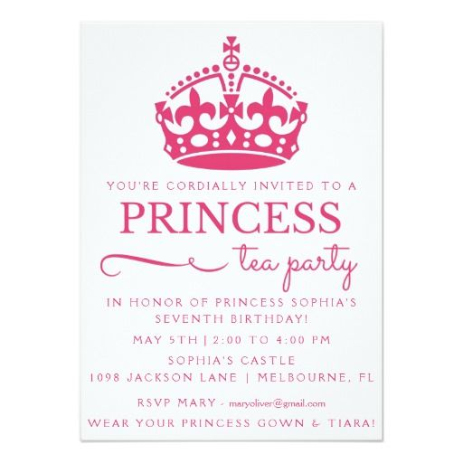 best 25+ princess birthday invitations ideas on pinterest | disney, Birthday invitations