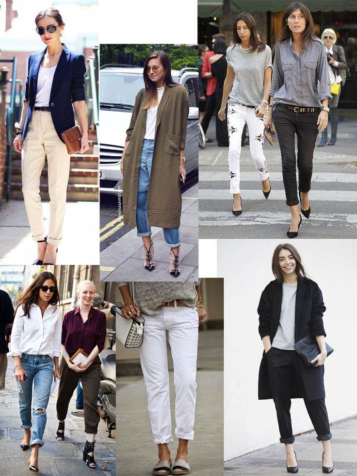 Je jedno, zda si lehce ohrnete otrhané džíny, klasické kalhoty s pukem nebo třeba skinny, ať tak nebo tak, odhalený kotník je neuvěřitelně sexy. A v kombinaci s vysokými podpatky tuplem!      Pics: Pinterest