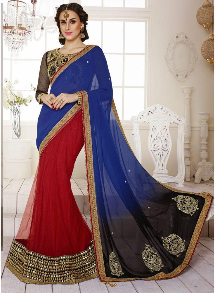 Latest Designer Wedding Wear Lehenga Saree
