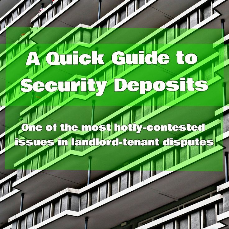apartment manager resume%0A Security deposits are oftentimes one of the most hotlycontested issues in  landlordtenant    Landlord TenantProperty Management
