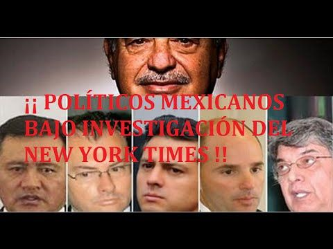 ¡¡Carlos Slim Investiga A Políticos Mexicanos Por Corrupción!!