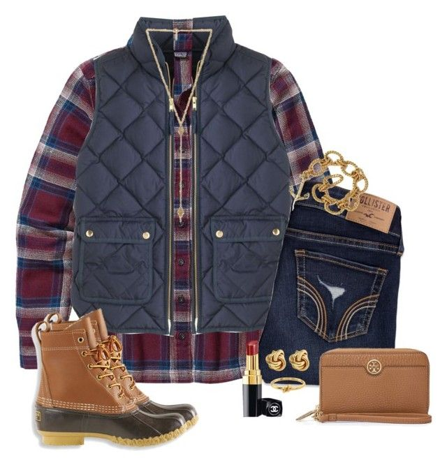 """""""I really want bean boots!!!"""" by anna-watson00 ❤ liked on Polyvore featuring Patagonia, J.Crew, Hollister Co., Ettika, L.L.Bean, Tory Burch, Chanel and Kate Spade"""