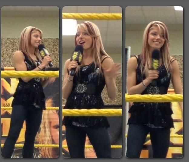 NXT Diva Lexi Kaufman, real name Alexis Kaufman   NXT ...