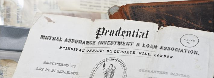 Our archives acquire, preserve and make available for use all kinds of original and irreplaceable records relating to Prudential plc and its subsidiaries.  The archives illustrate the history of Prudential from its foundation in 1848 to the present day. Holdings include corporate, investment, product, publicity, regional and overseas records.