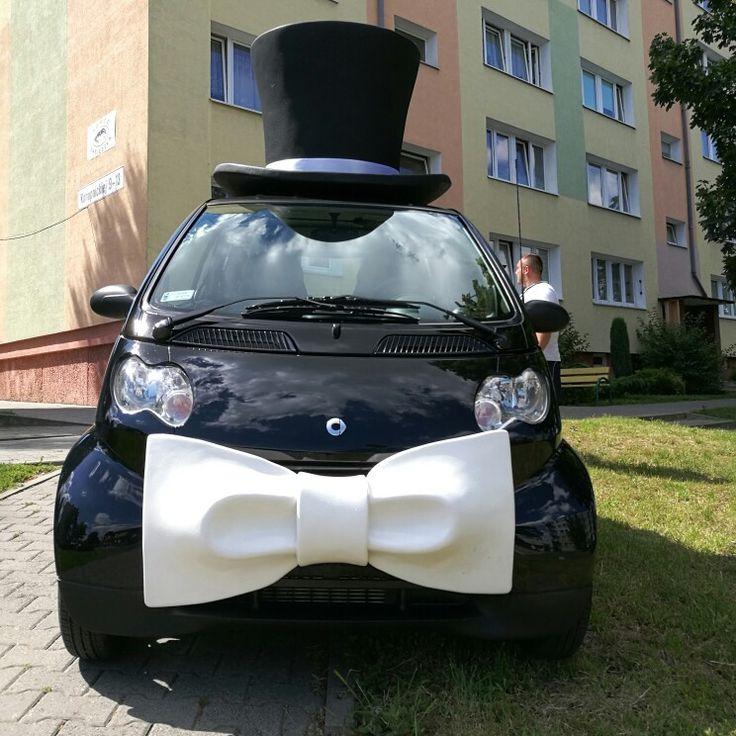 #SmartPara w Kaliszu :) www.smart-line.pl #zwariowanewesela #smartydoslubu #smartcar #autodoslubu #samochodnawesele #atrakcjeweselne #wedding #weddingcar #funycar #smartcars