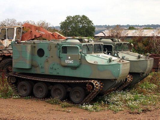 76 Otter amphibious vehicle
