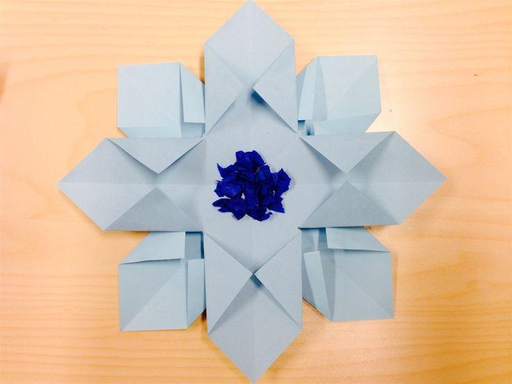 Jouluaskarteluja - www.opeope.fiPunaisena näyttävä, helppo joulutähti