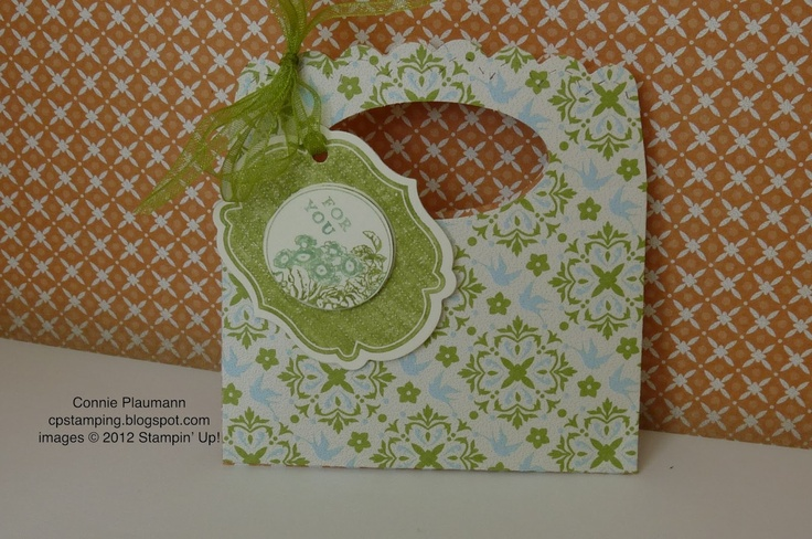 Creative Possibilities: Scallop Envelope Die Mini Treat Bag
