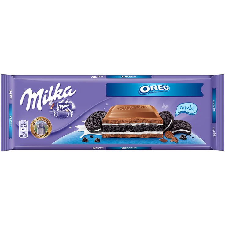 -in USA- Milka OREO XXL chocolate bar 300 g- Made in Germany