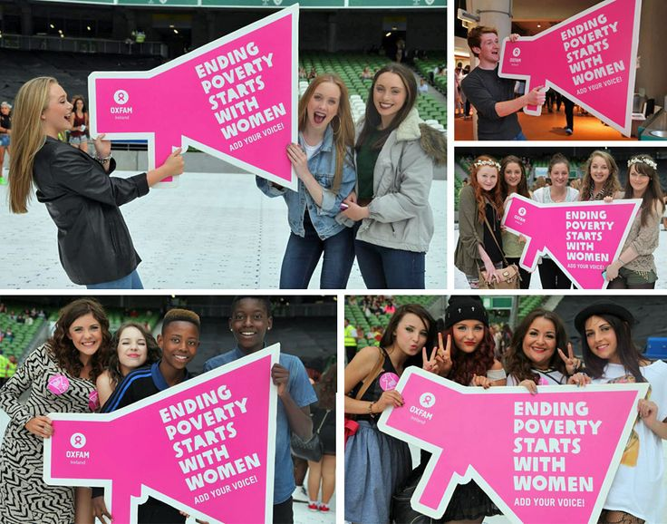 Festival-goers add their voice to our Ending Poverty Starts with Women campaign – will you join us? http://www.oxfamireland.org/blog/festival-goers-add-their-voice