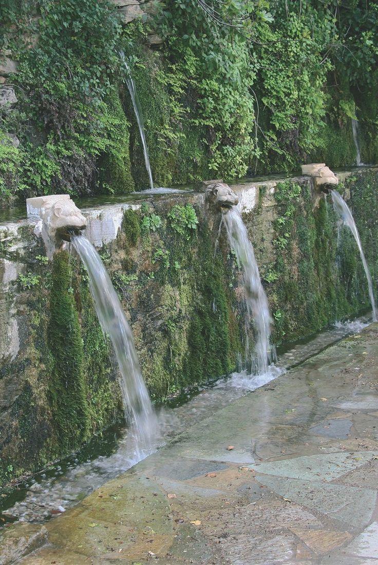 Menites Spring Andros, Greece