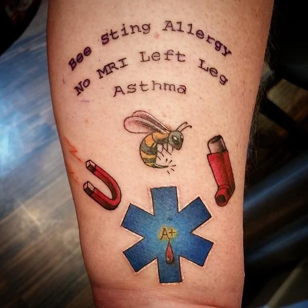 Medical Alert Tattoos: All Your GP Needs to Know | 10 ...