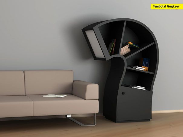 33 Creative Bookshelf Designs Gallery