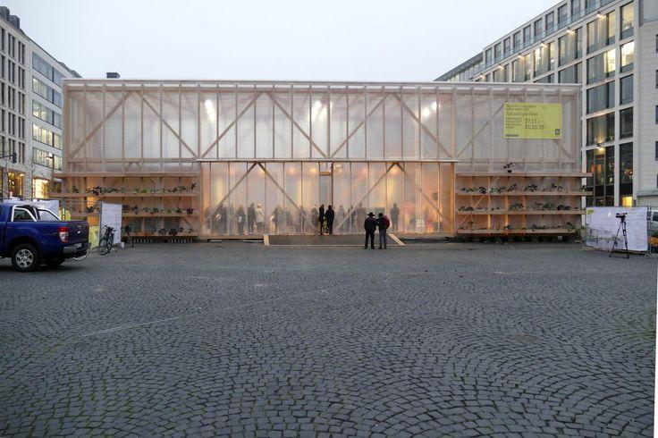 Zukunftspavillon am Goetheplatz - Mitmachen für ein grünes Frankfurt - Frankfurter GartenFrankfurter Garten