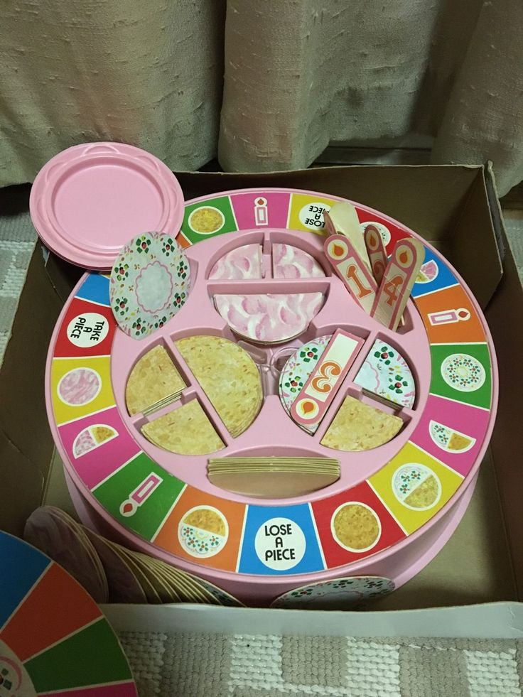 Birthday Cake Game by Parker Brothers