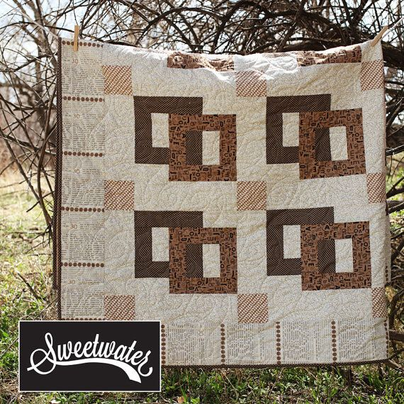Town Square Quilt Backing- Preorder on Etsy, $22.00