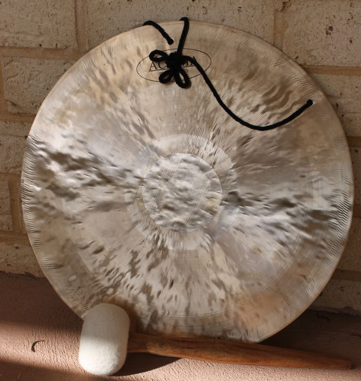 Fen Gong, has a very gentle and soft sound. Deeply relaxing, the Gong is one of the most ancient and sacred instruments in the world. www.thepeacefulheart.com.au