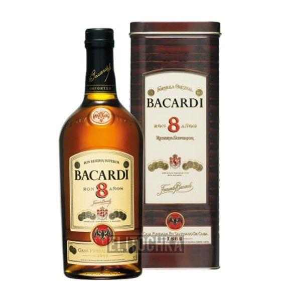 Bacardi Gold 8 Years Old 1L (Бакарди Голд 8 лет 1л)