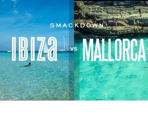 City Smackdown: Ibiza vs. Mallorca