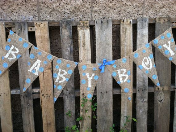 10 CENT SHIPPING for the month of June Baby Boy by BurlapGirl, $18.00