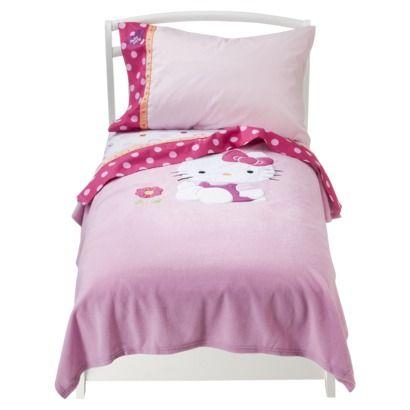 hello kitty toddler bedding set 2