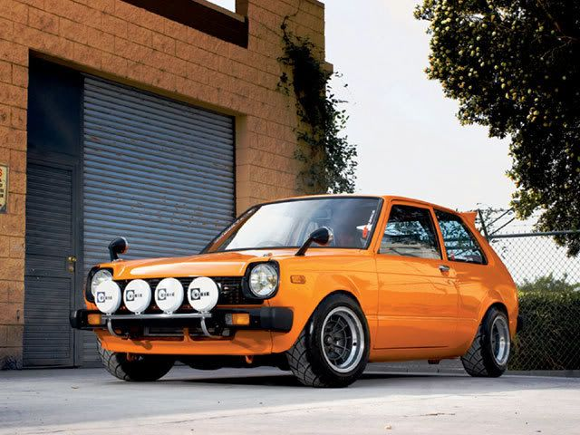 1973 Toyota Starlet. Its not that the car is sooo fuckin awesome. Its how much passion. Someone puts into it.