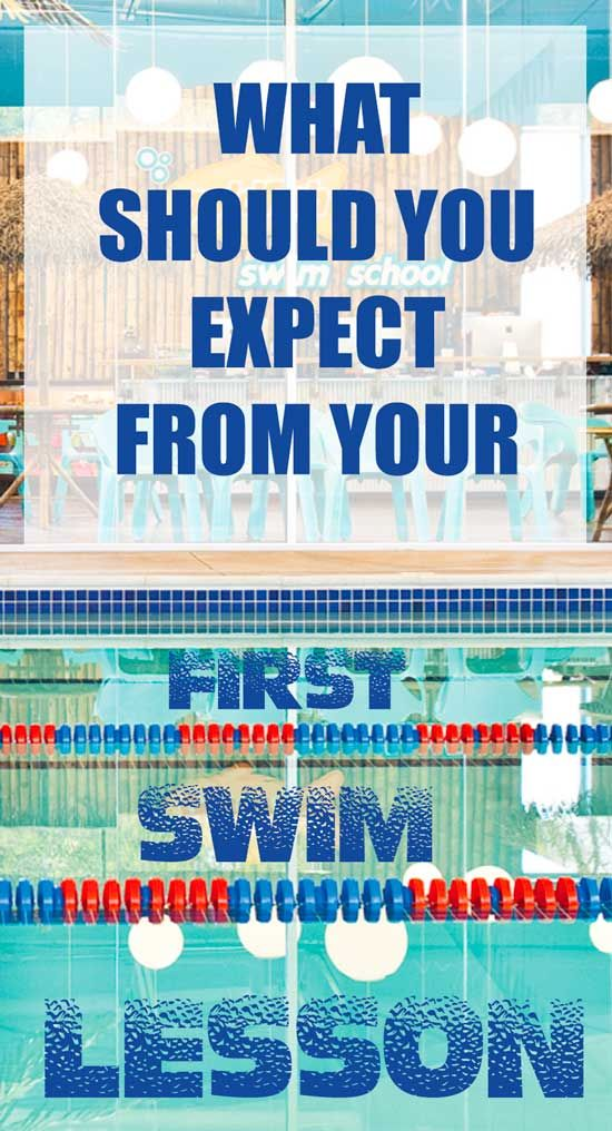 Ready to sign up your child for a swim class and have a lot of questions? Check out out tips on what to expect from the first swim lesson?