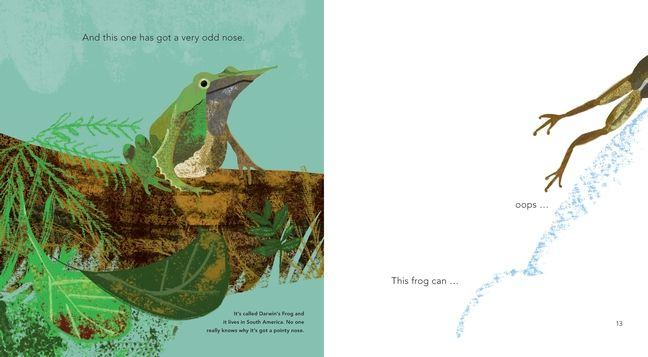 Image result for fabulous frogs book martin jenkins