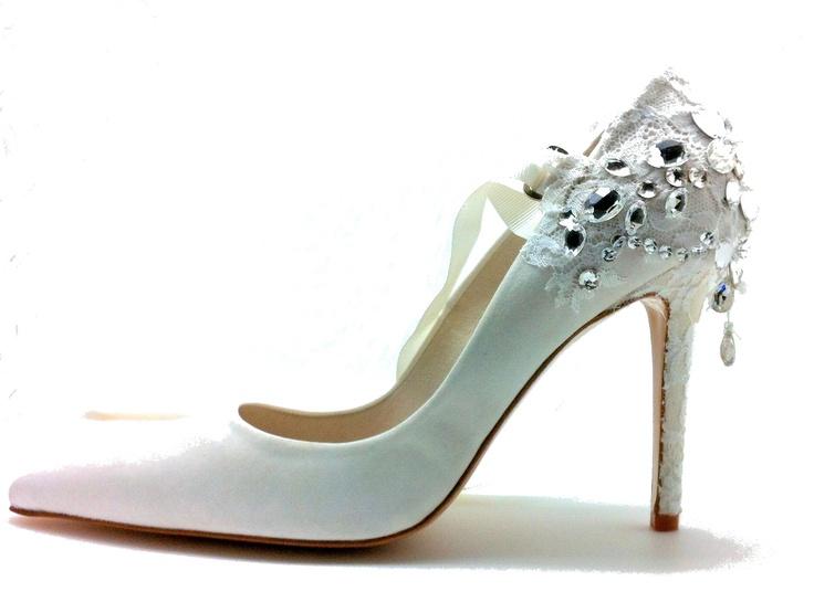 Chaussure mariage - Modèle Tour Eiffel Mademoiselle Rose