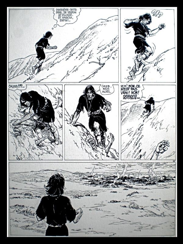 Thorgal, La Galère Noire (T.4), Planche 40 par Grzegorz Rosinski, Jean Van Hamme…