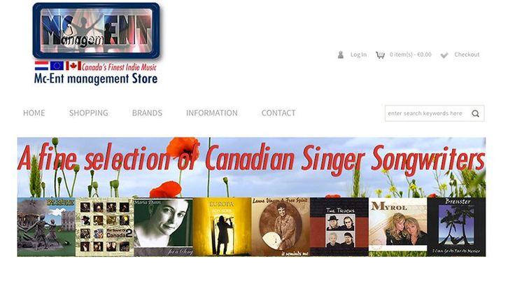 "Website design ""Mc-Ent Store"""