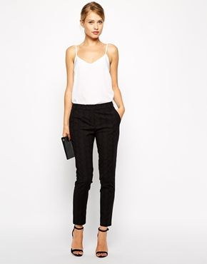 These tailored, textured trousers have the perfect fit for work or for going out! Find them here: http://asos.do/eEOycQ