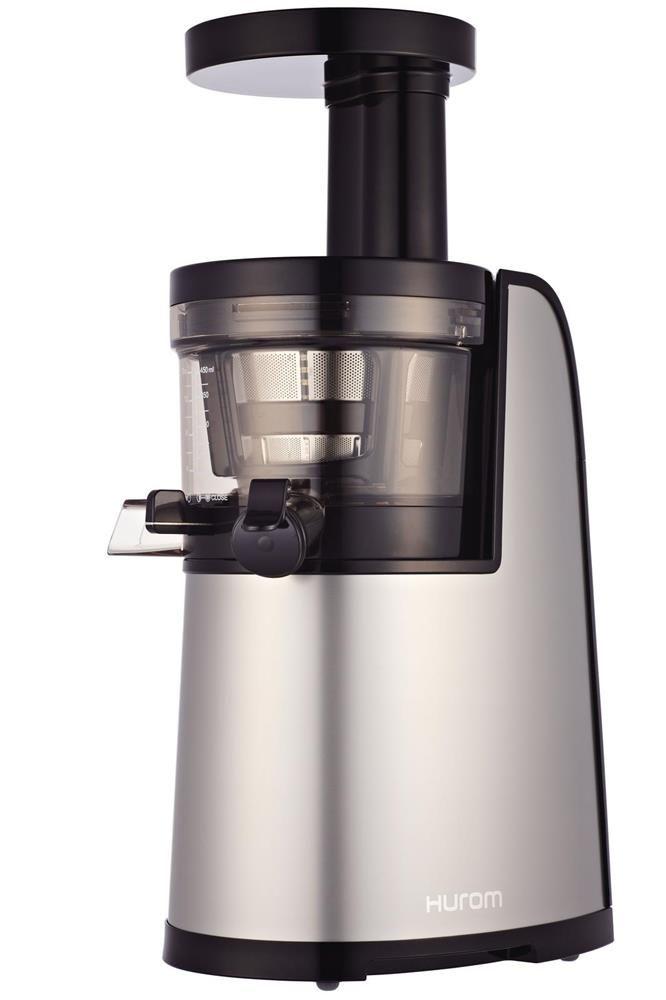 Extracteur de jus électrique Hurom HG 2G gris. Nouvel extracteur de jus Hurom, plus performant. http://www.tompress.com/A-10003467-extracteur-de-jus-electrique-hurom-hg-2g-gris.aspx
