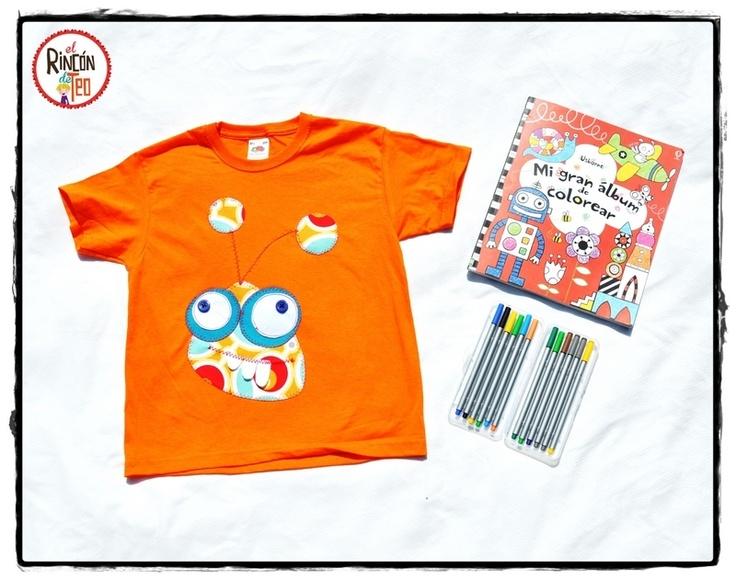 El Rincon de Teo — Camiseta Loko Monster Naranja