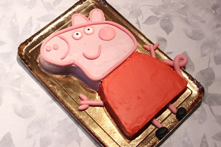 Gâteau Peppa Pig ...Pour Sara  2ans!!