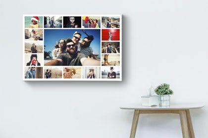 25 beste idee n over fotocollage canvas op pinterest - Fotocollage auf leinwand ...