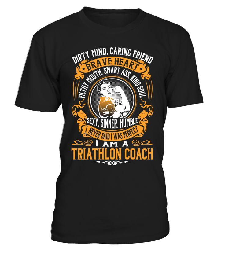 Triathlon Coach - I Never Said I Was Perfect #TriathlonCoach