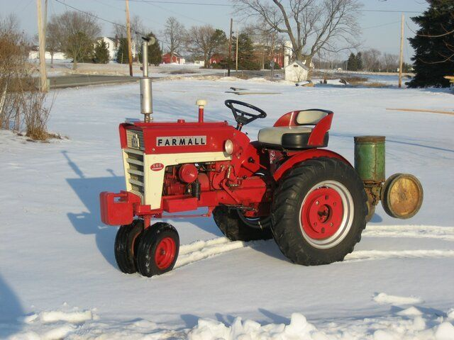 Ih Garden Tractors : Best images about mini tractors on pinterest small