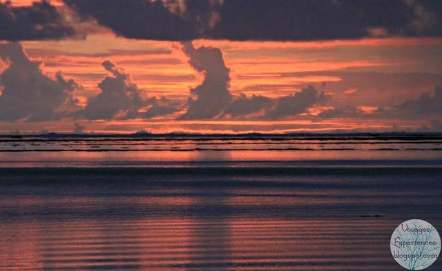 Voyages et Expériences à l'île Maurice: Le soleil se lève à Pointe d'Esny