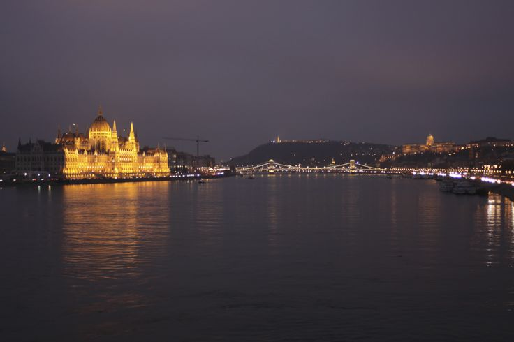 The House of Parliament in the evening. Budapest, Hungary. Photo: Ida-Liina Huurtela