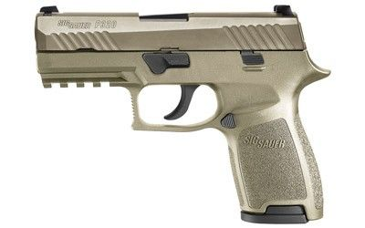 Sig Sauer 320C-9-FDE 320 Compact Pistol 9mm 3.9in 15rd FDE for sale at Tombstone Tactical.