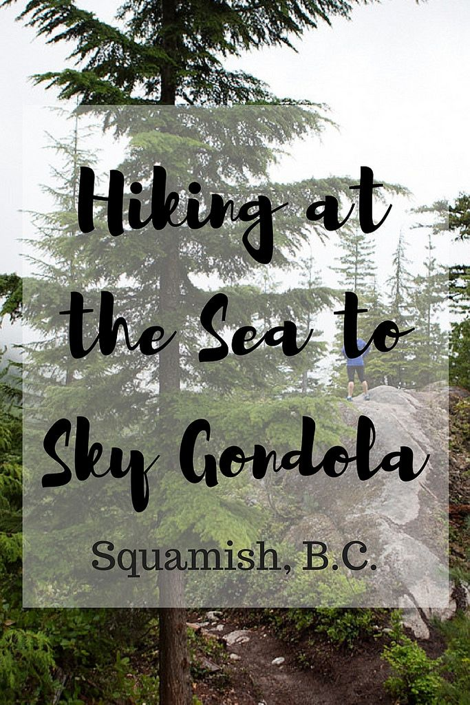 Located in Squamish, B.C., these are the breath-taking views atop the Sea to Sky Gondola and the hikes for individuals at each level.