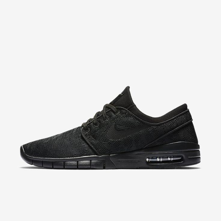 Nike SB Stefan Janoski Max Men's Skateboarding Shoe Size 14 (Black) -  Clearance Sale