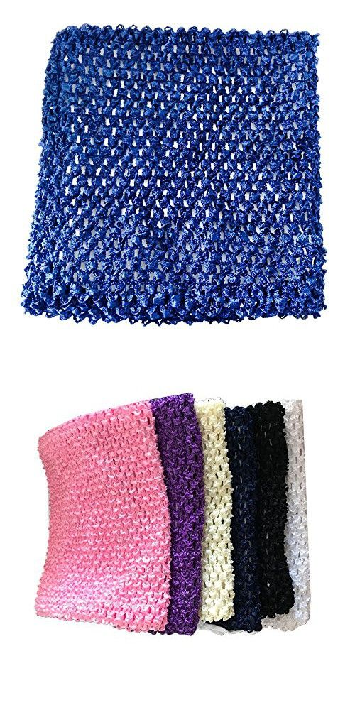 9 Inch Crochet Tutu Tube Top Chest Wrap For Babies Infants And