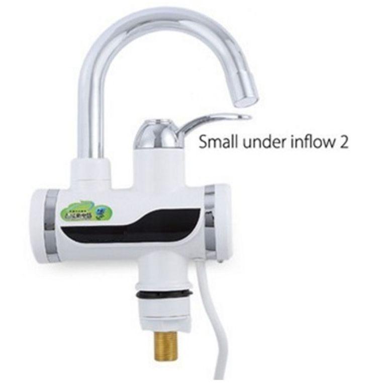 BD3000W-6, envío libre, Pantalla Digital Instantánea Grifo de Agua Caliente, Sin Tanque Calentador Eléctrico Grifo, Grifo de la Cocina Del Calentador de Agua