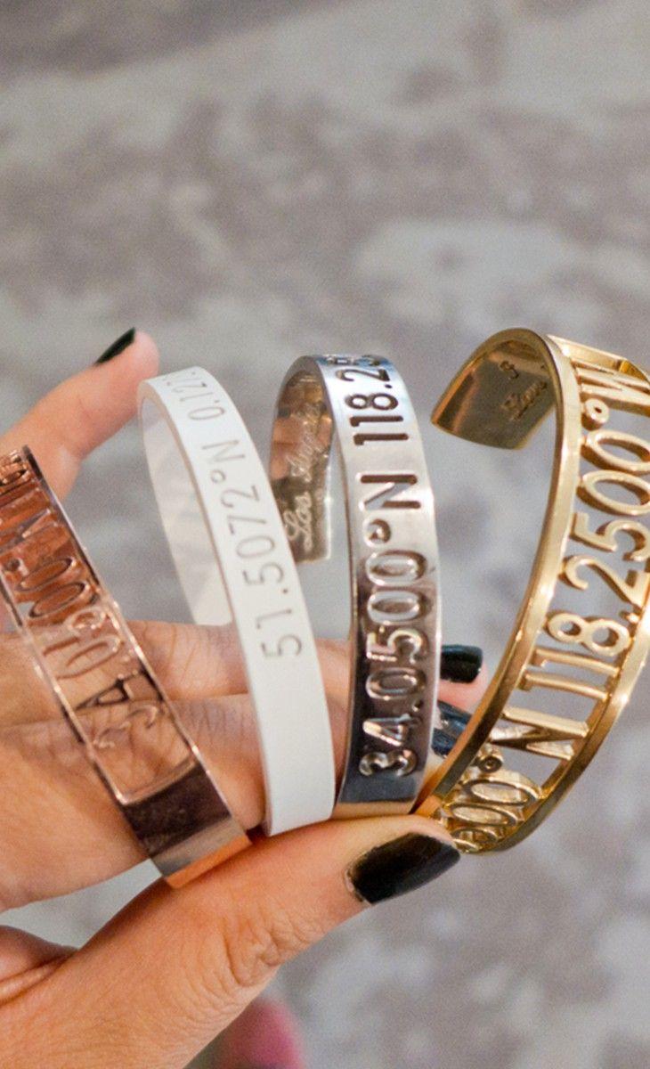 coordinates bracelets.. The white one!