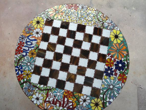 Custom Made Mosaic Table Tops
