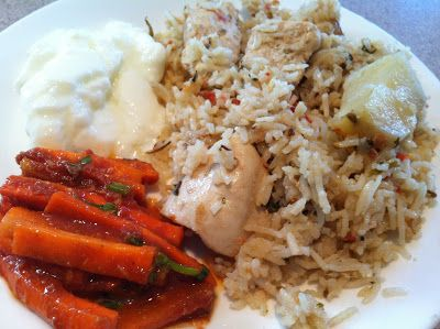 Real Life For Mom: Akni - My favorite Indian rice dish
