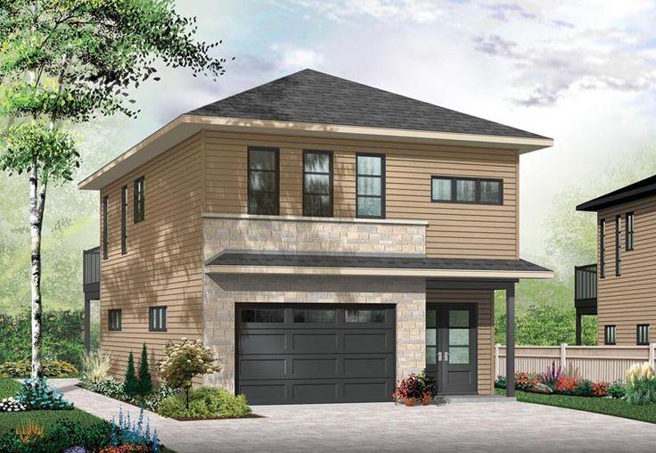Contemporary Cottage Garage Plan 76395 Elevation